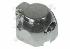 12N 7 Pin Aluminium Socket + Nickel Pins