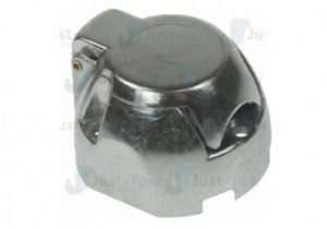 12N 7 Pin Aluminium Socket