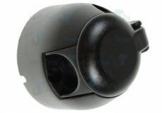 12N 7 Pin Black Plastic Socket + Nickel Pins