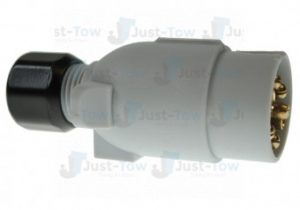 12S 7 Pin Grey Plastic Plug