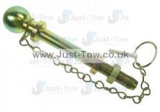 22mm Long Series Threaded 50mm Towball