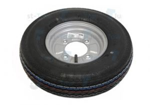 "Wheel & tyre 400 x 8"""