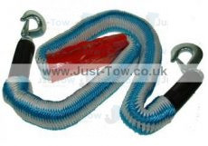 Elasticated 1.5m-4m 2000kg Tow Rope