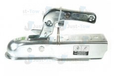 50mm Pressed Steel Coupling Hitch & Integral Lock