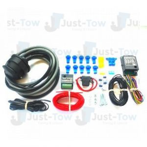 13 Pin Bypass & Charge Relay Towbar Wiring Kit