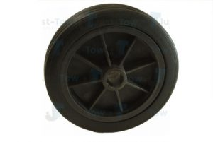 155mm Spare Plastic Jockey Wheel and Tyre