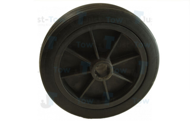 155mm Spare Plastic Jockey Wheel and Tyre