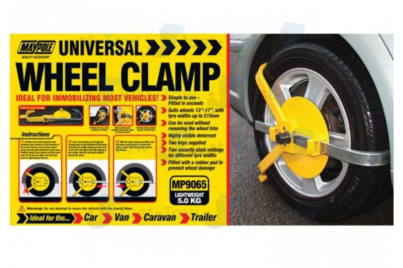 Security Wheel Clamp
