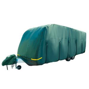 Green Caravan Cover