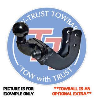 Tow-Trust Flange Towbar