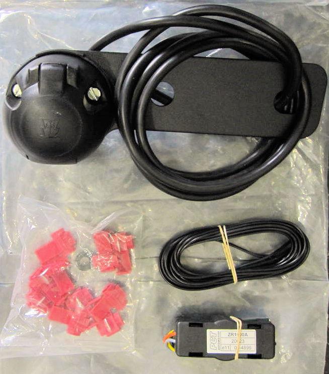 Towbar 12N 7 Pin Single Electrics Socket Cable /& Plate