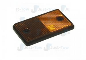Self Adhesive Amber Side Rectangle Reflector