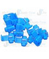 Bag of 10 x Blue Snap connectors