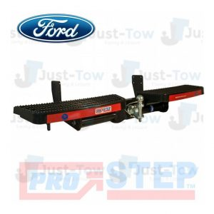 Black Ford Transit Custom 2012 Onwards Towing Pro-Step