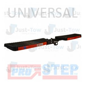 Black Universal Towbar Mounted Pro-Step