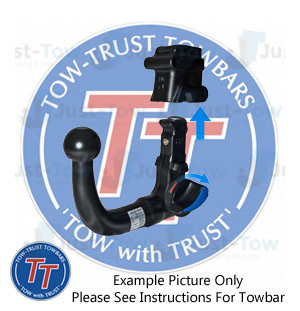 F45 Swan Neck Tow Bar 2014 Onwards Towbar for BMW 2 Series Active Tourer
