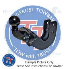 Chevrolet Pick Up (With Bumper Step) Towtrust Towbar 2003 to 2012