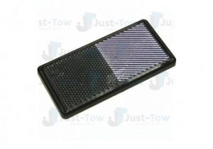 Self Adhesive Clear Front Rectangle Reflector