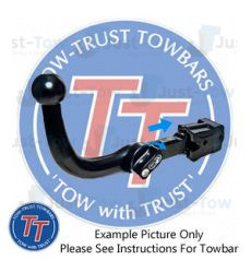 Dacia Sandero Towtrust Detachable Towbar 2012 to Present