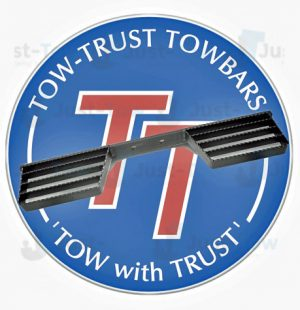 Tow-Trust Double Rail Towbar Step