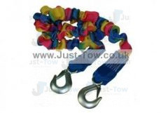 Elasticated 1.75m-4m 3000kg Tow Rope