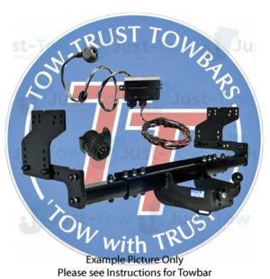 Elddis Majestic TowTrust Motorhome Towbar & 13 Pin Wiring Kit 2011 to 2016