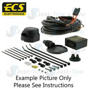 Ford Fiesta Oct/2012 to Present 13 Pin Dedicated Towbar Wiring Kit