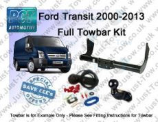 Ford Transit Van PCT Towbar Kit 2000 to 2014