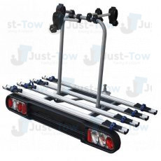Foxhound Towball Mounted 4 Bike Cycle Carrier
