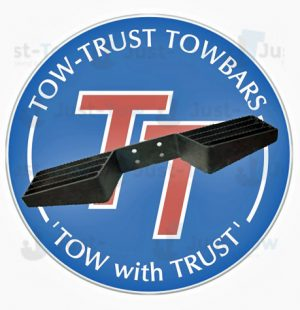 Heavy Duty Double Rail Towbar Step
