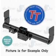 MAN TGE Van (Twin Rear Wheel)(No Step) TowTrust Adjustable Height Towbar 2017 to Present