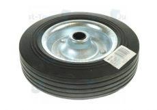 200mm Steel Wheel & Solid Rubber Tyre