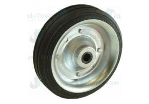 160mm Steel Wheel & Solid Rubber Tyre