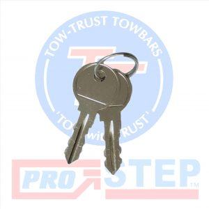Tow-Trust Detachable Towbar Spare Keys