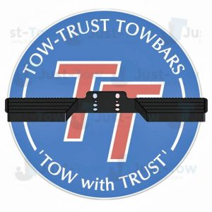 Tow-Trust Euro Face Double Rail Towbar Step