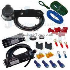 PCT Universal 13 Pin Towbar Wiring Kit, Bypass Relay & Volton Relay Kit