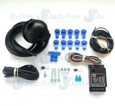 Universal Single 7 Pin Towbar Wiring Kit & Bypass Relay