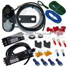 Universal Twin 7 Pin 12N/S PCT Towbar Electric Wiring Kit, Logicon & Volton Relays