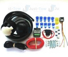 Universal Twin 7 Pin 12N/S Towbar Electric Wiring Kit