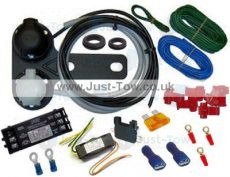 Universal Twin 7 Pin 12N/S Towbar Electric Wiring Kit & Volton Relay