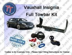 Vauxhall Insignia Estate Towbar Kit 2008 to 2017