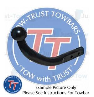 TowTrust Swan Neck Towbar