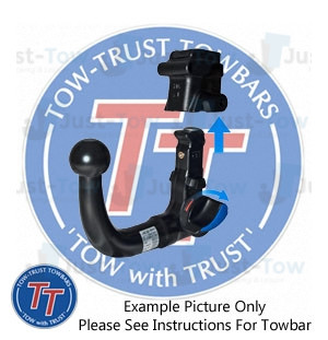 Witter Towbar for Volvo V50 Estate Flange Tow Bar Est 2004-2014