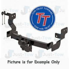 VW Crafter Van (Twin Rear Wheel)(No Step) TowTrust Towbar 2017 to Present