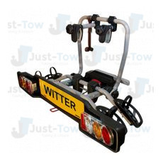 ZX202 Towball Mounted Witter Cycle Carrier 2 Bikes