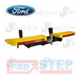 Yellow Ford Transit Custom 2012 Onwards Towing Pro-Step