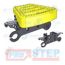 Yellow Pro-Step Coupling Spacer with Removable Tread