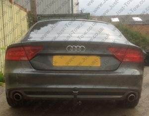 Audi A7 2007 Onwards Fitted with Westfalia Detachable Towbar & 13 Pin Dedicated Electrics