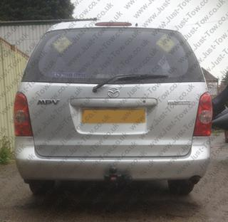 Mazda MPV 1999 to 2005 Fitted with Witter Towbar MZ36A & Single Electrics