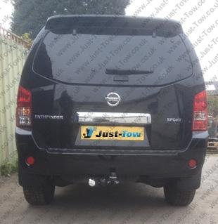 Nissan Pathfinder 2005 Onwards Fitted with Westfalia Swan Neck Towbar & Twin Electrics